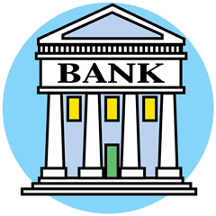 traditional bank building