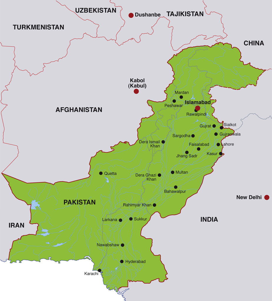 Islamabad Pakistan Map: Pakistani Headlines And News